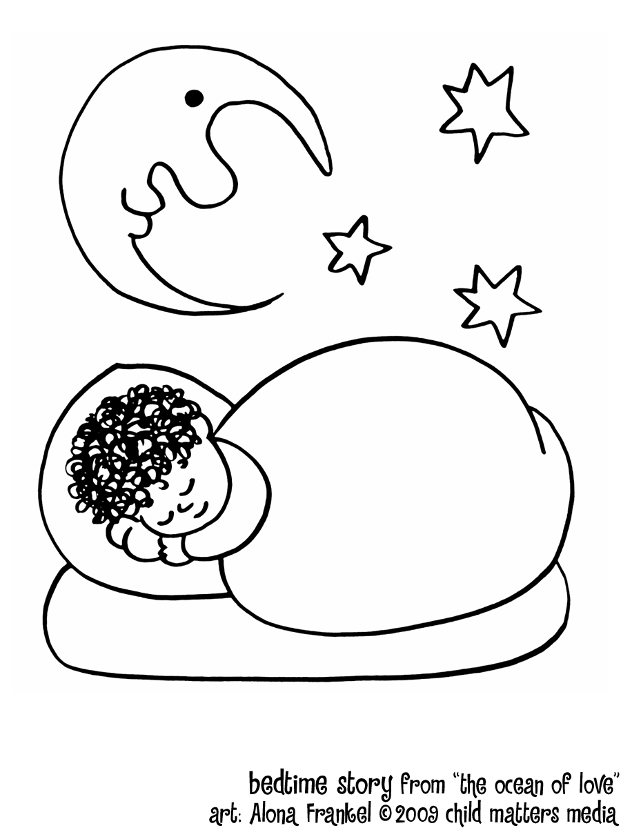 sleeping coloring pages sleeping free coloring pages